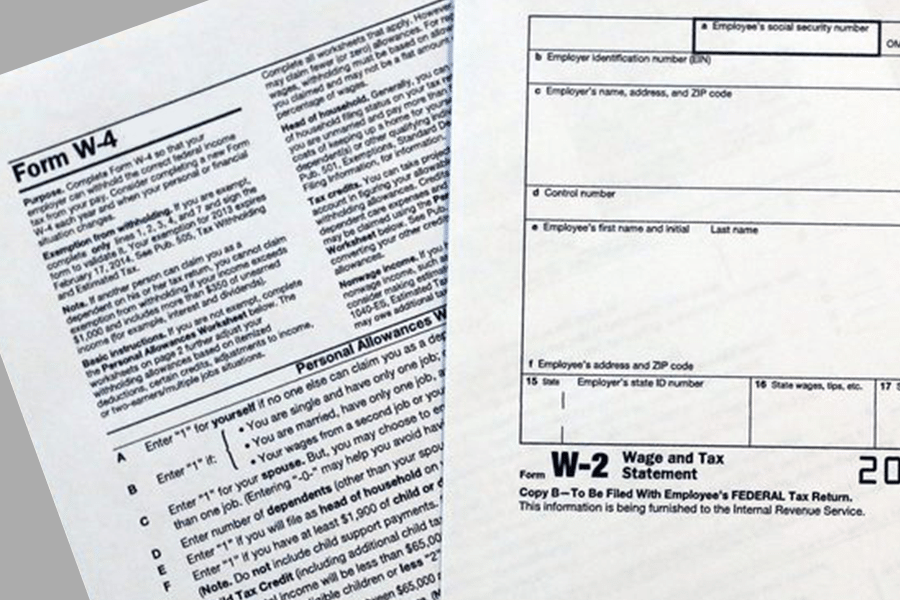 W-2 vs W-4: What's the Difference & When to Use Them 2018