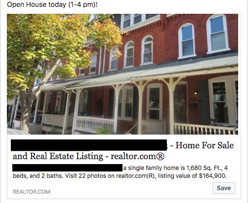 Real Estate Open House Facebook Post - open house ideas