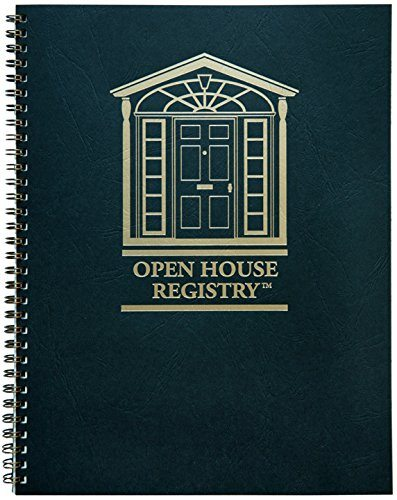 open house registry book - open house ideas