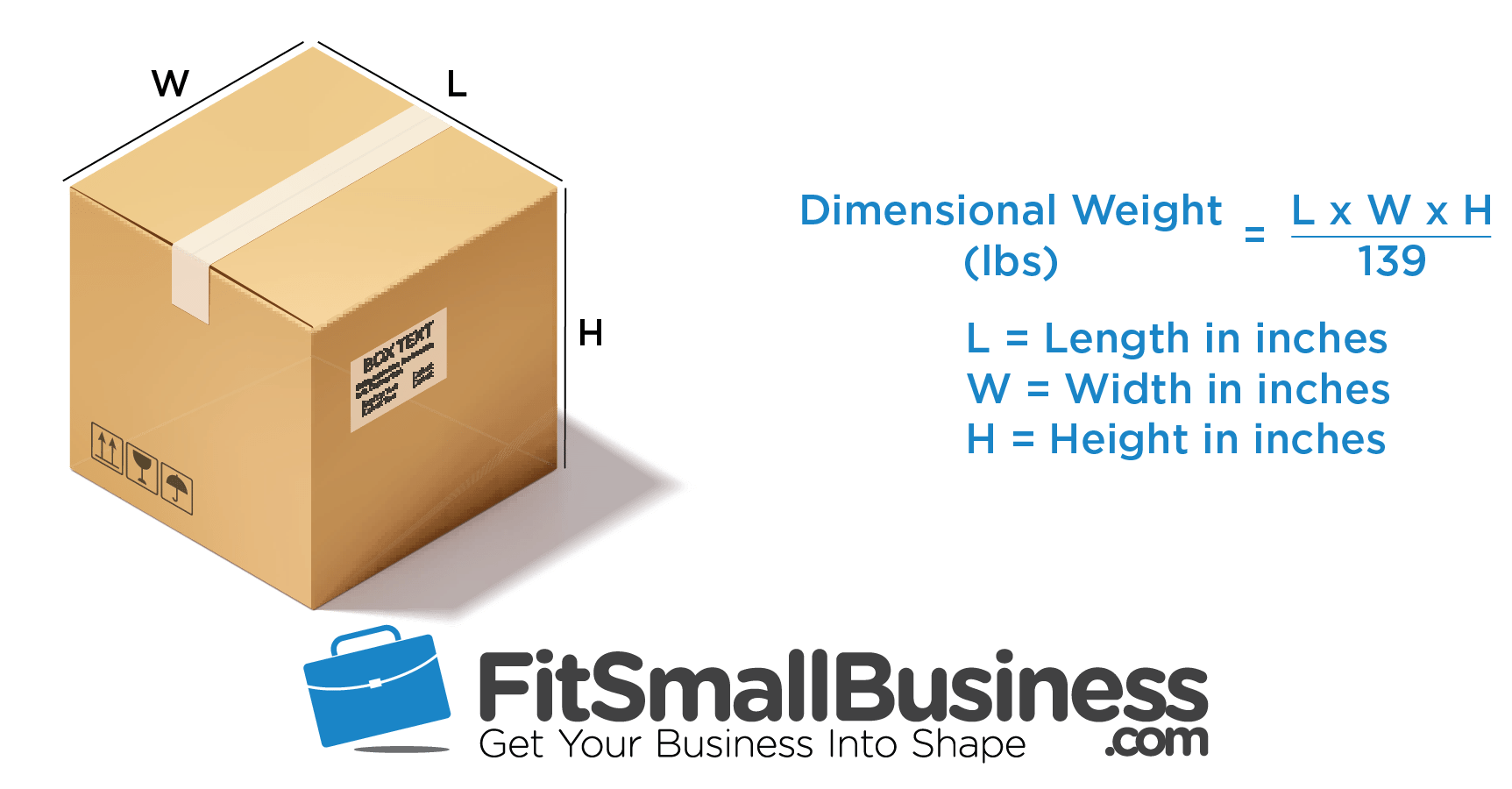 Dimensional Weight Calculator - UPS and FedEx