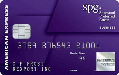 Starwood Preferred Guest Business Card from American Express Reviews