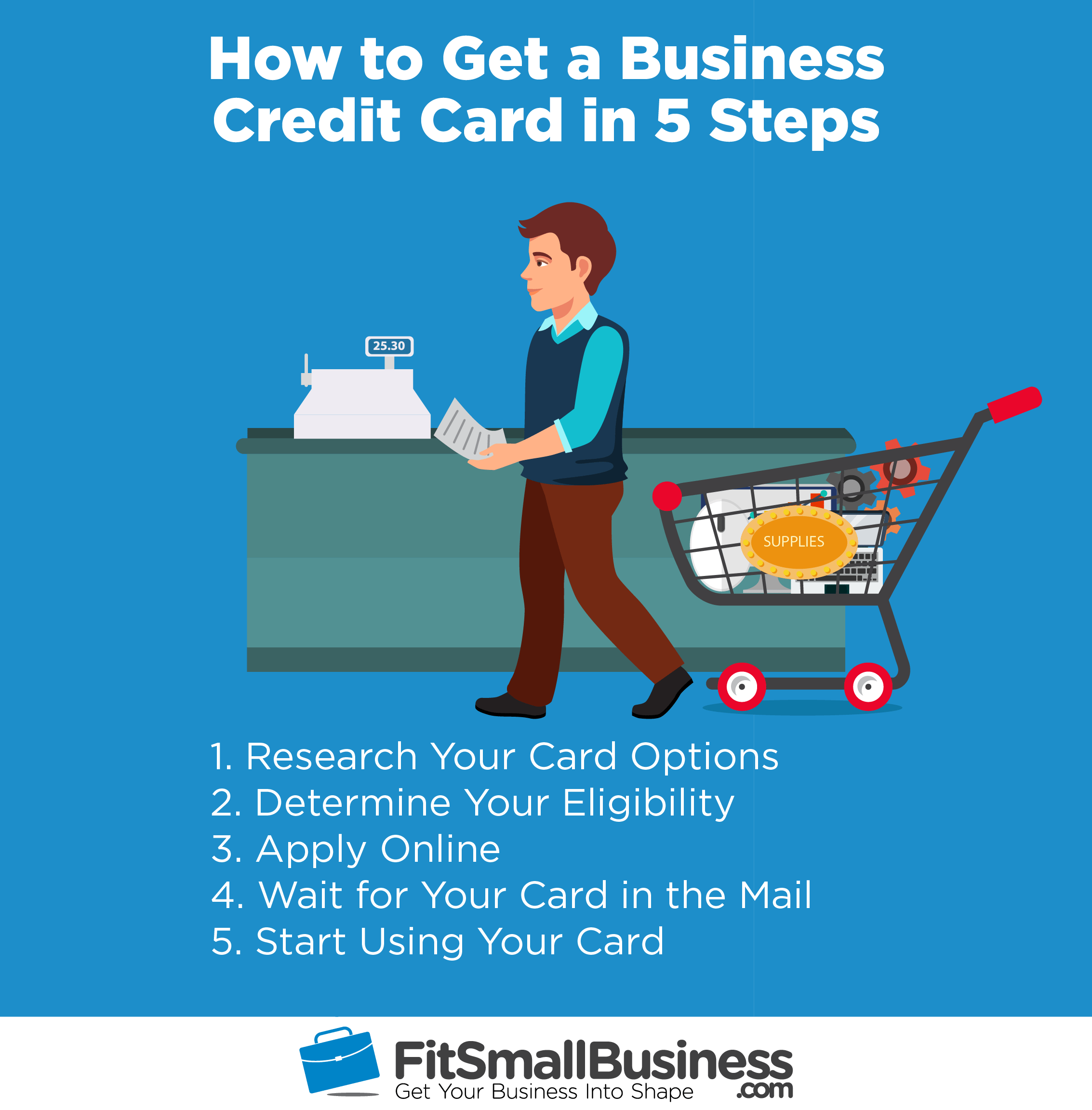 How to Get a Business Credit Card in 5 Steps