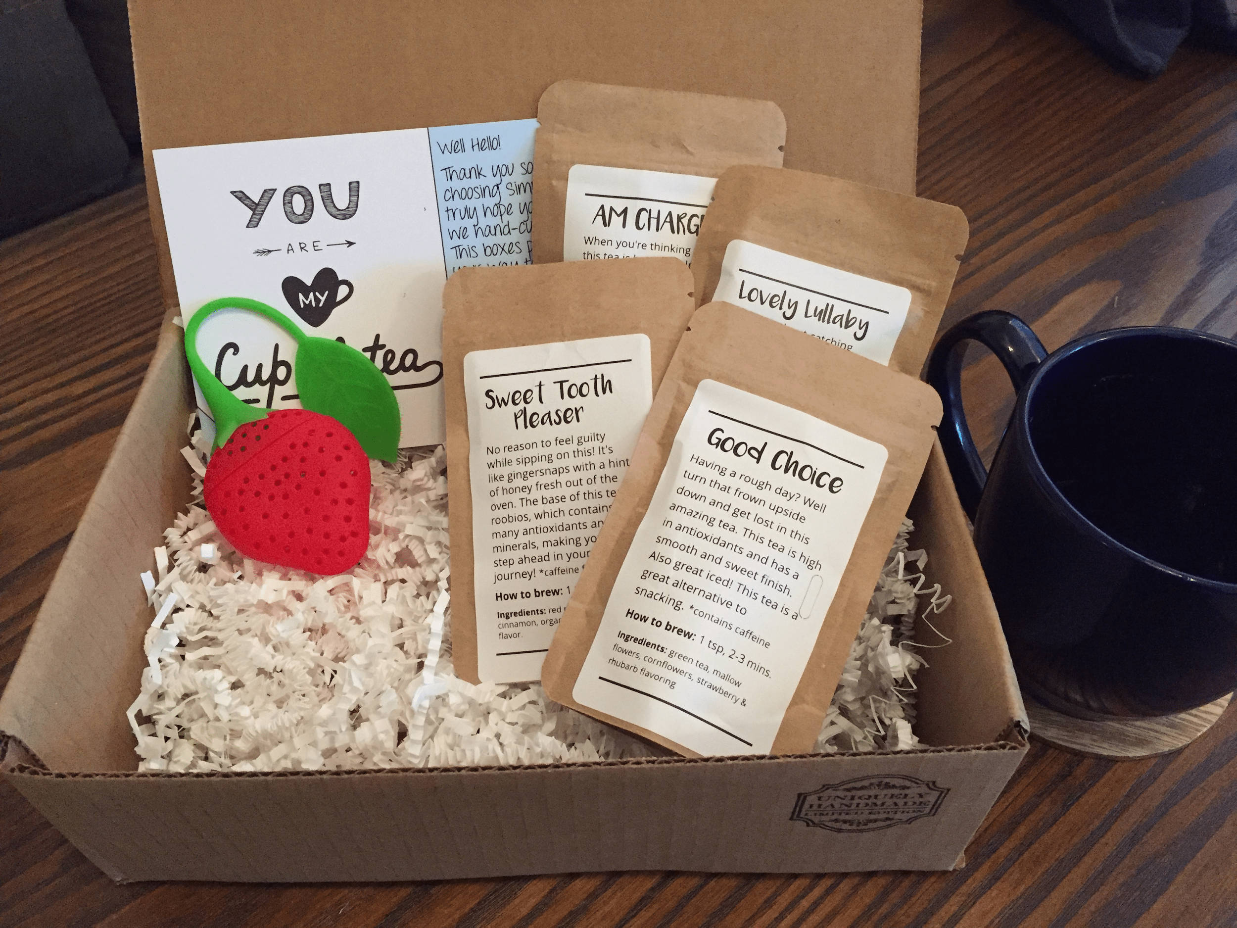 How to start a subscription box business - Simplicity Teas