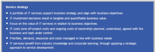 Service strategy features