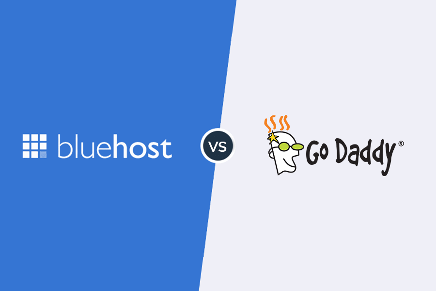 bluehost vs. godaddy: comparison of price, features & server performance
