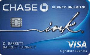 Chase Ink Business Unlimited<sup>SM</sup> Credit Card