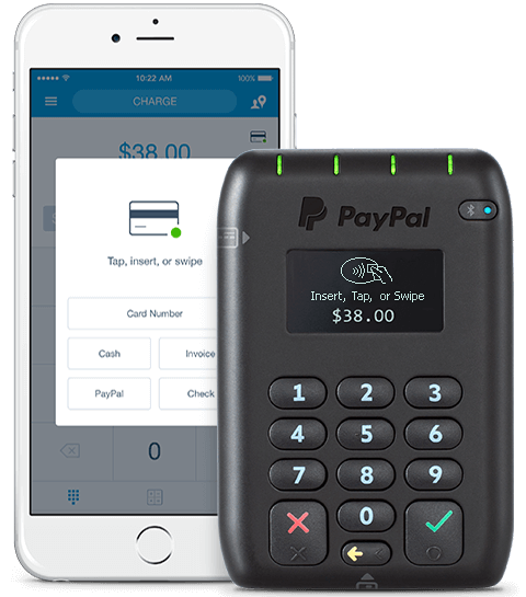 PayPal Here POS app