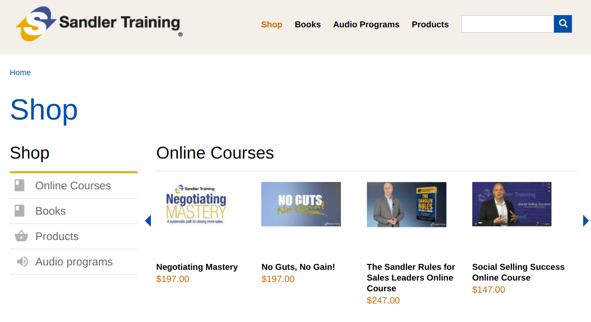 Sandler Training-Sales and Leadership Training Employee Development Best for Small Business