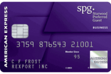 American Express Starwood Preferred Guest