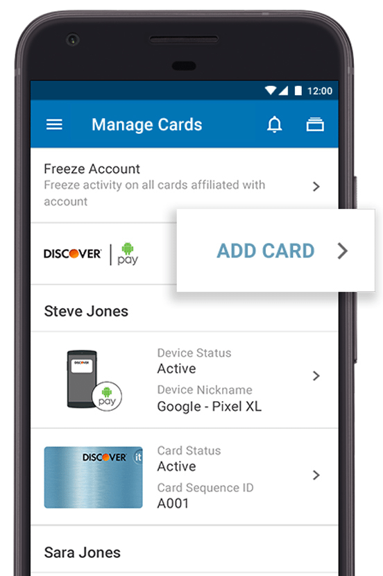 NFC payment -- how NFC payments work when customers select a card