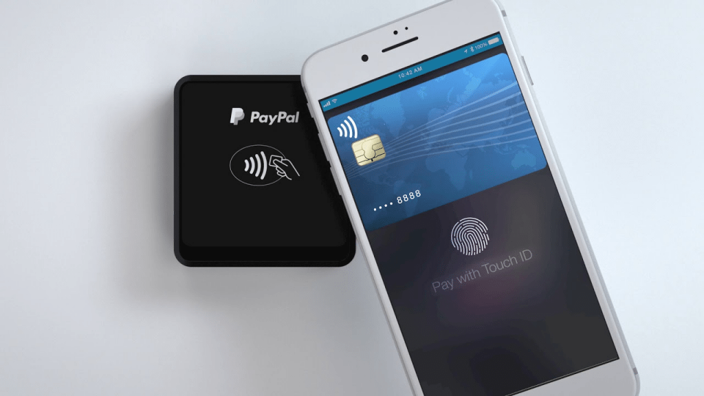 NFC payment -- how PayPal NFC payments work