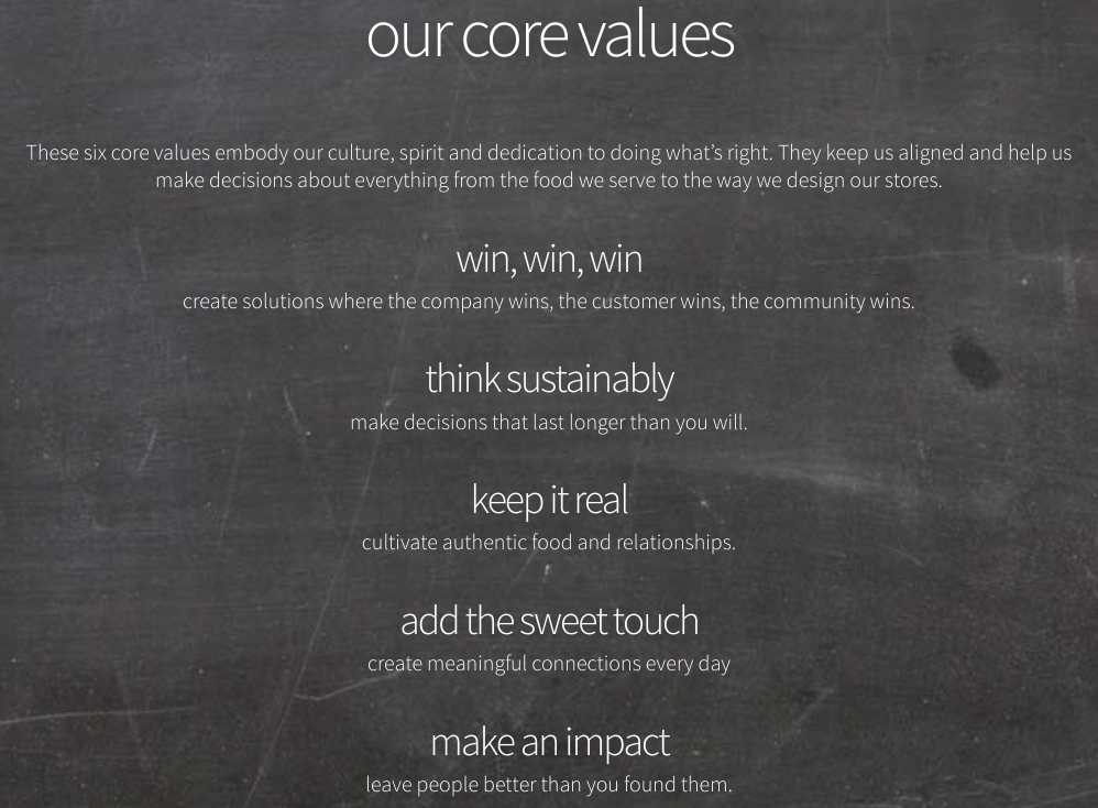 Sweetgreen-Core Values-Tips from Pros