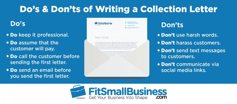 Do's & Don'ts of Writing a Collection Letter