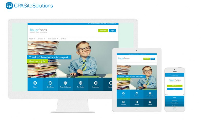 CPA Site Solutions Website