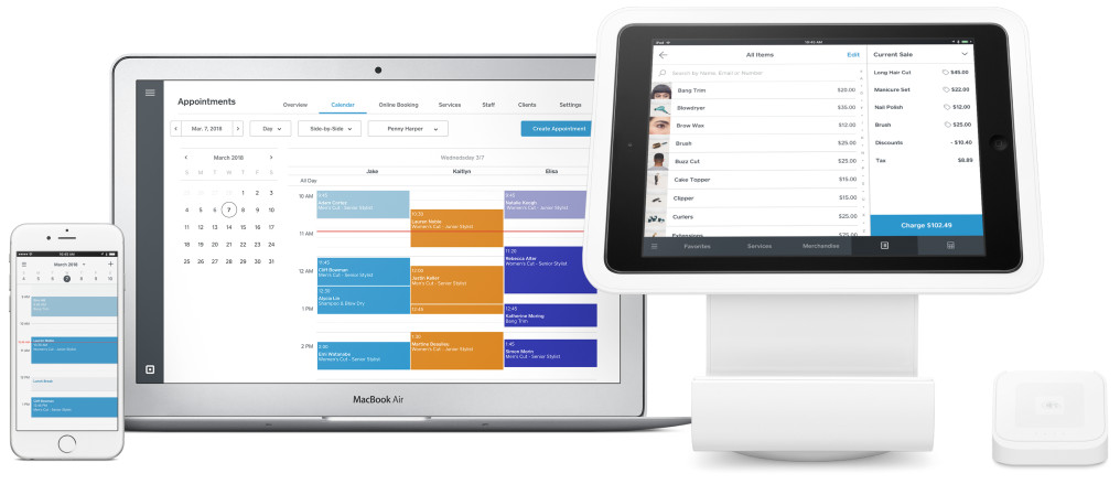 free appointment scheduling software - Square