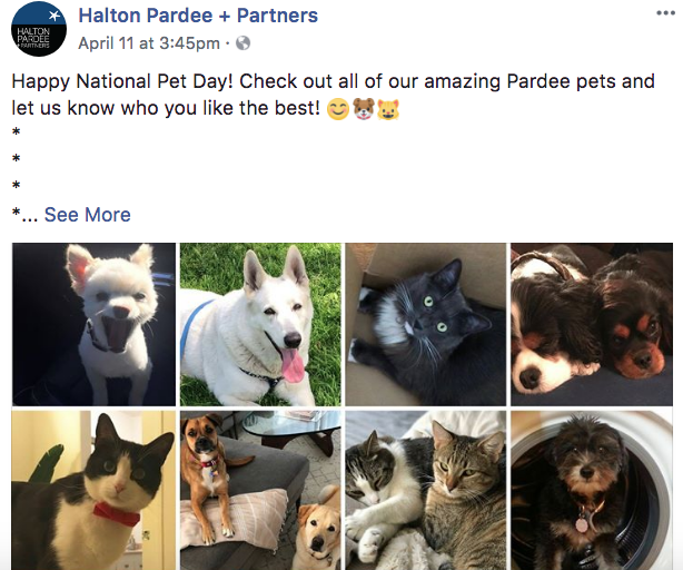 Halton Pardee Partners - Real Estate Facebook Posts - Tips from the pros