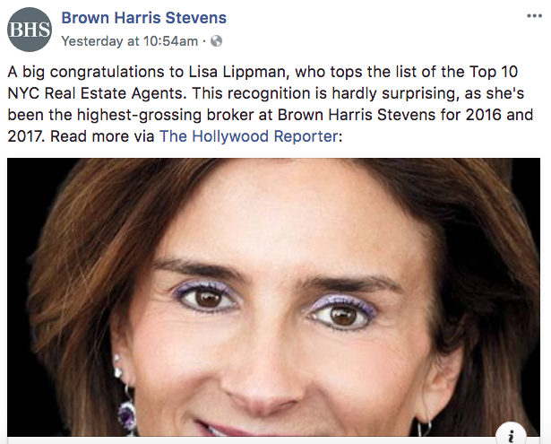 Brown Harris Stevens - Real Estate Facebook Posts - Tips from the pros