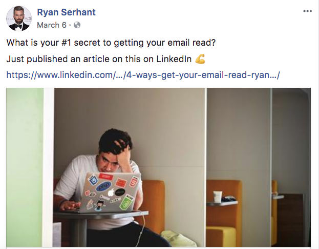 Ryan Serhant - Real Estate Facebook Posts - Tips from the pros