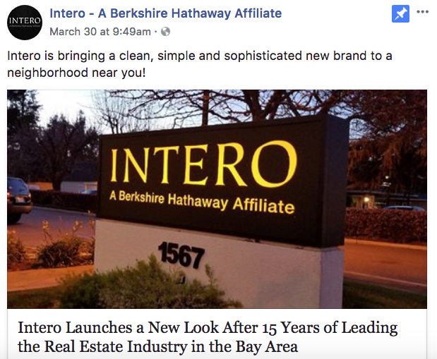 Intero - Real Estate Facebook Posts - Tips from the pros