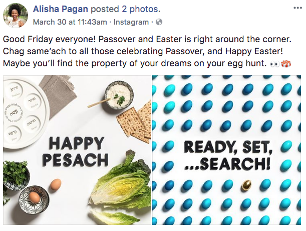 Alisha Pagan - Real Estate Facebook Posts - Tips from the pros