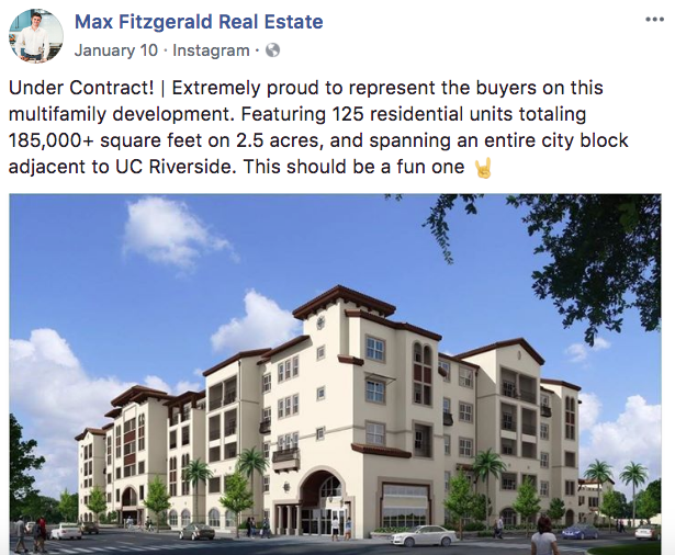 Max Fitzgerald - Real Estate Facebook Posts - Tips from the pros