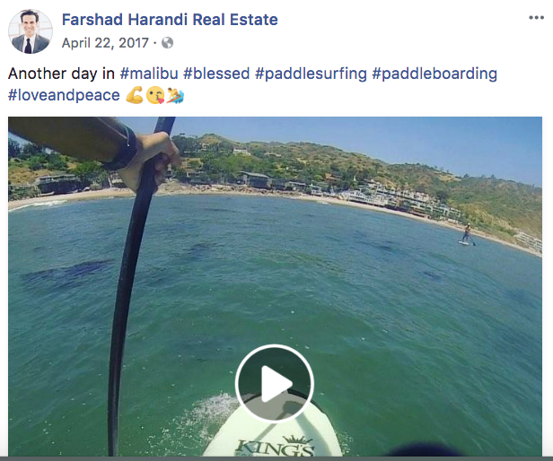 Farshad Harandi - Real Estate Facebook Posts - Tips from the pros