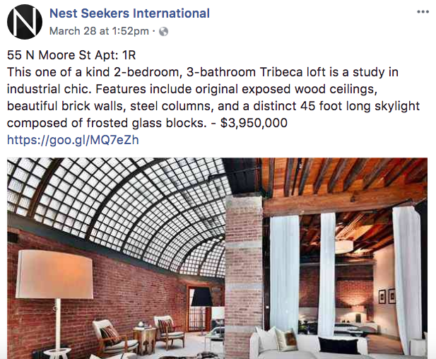 Nest Seekers International - Real Estate Facebook Posts - Tips from the pros
