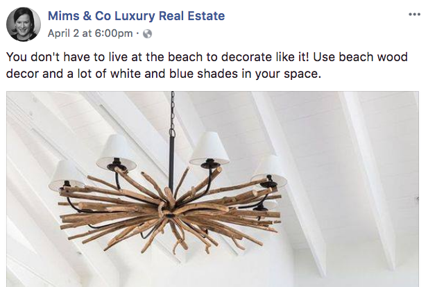 Mims & Co Luxury Real Estate - Real Estate Facebook Posts - Tips from the pros