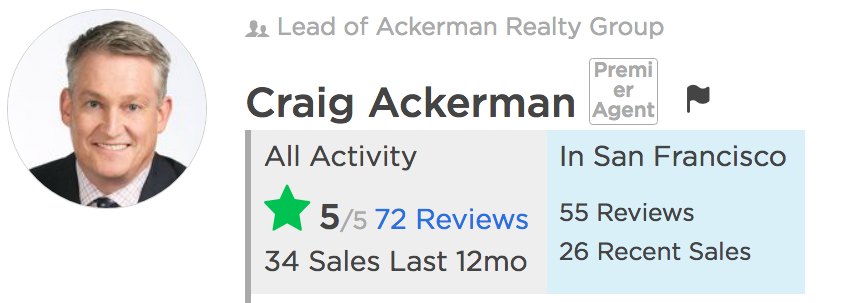 zillow agent profile