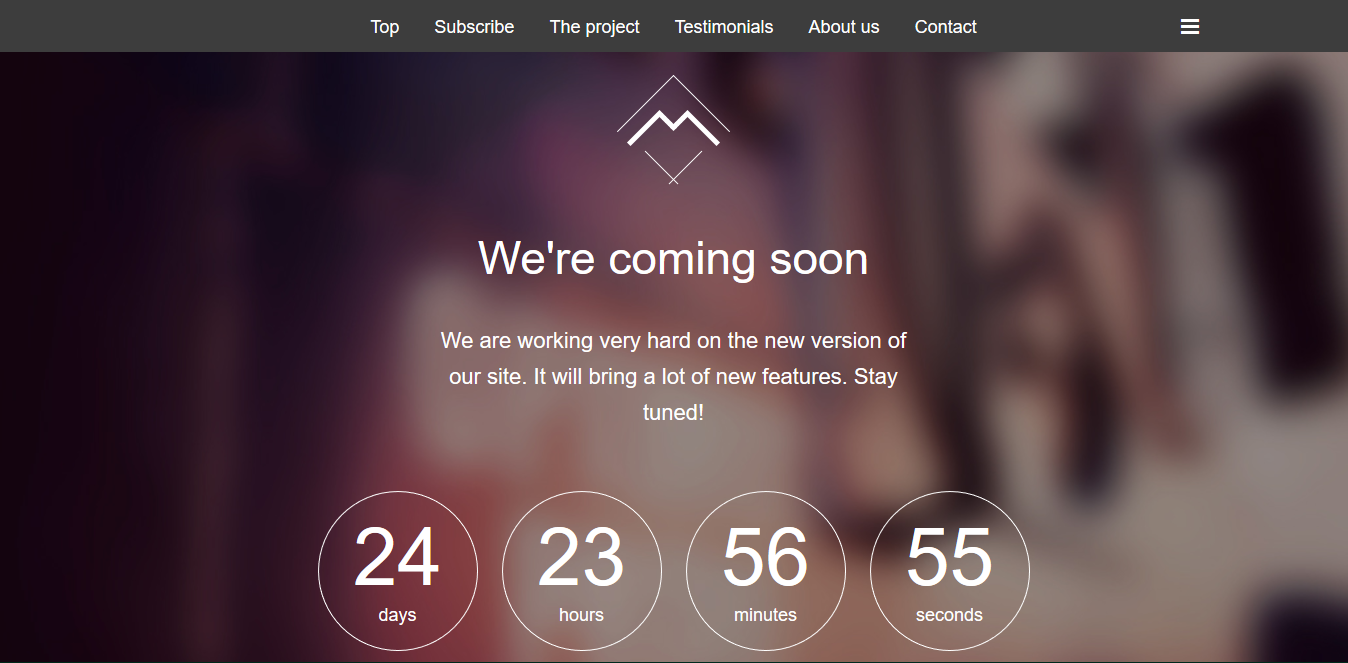 Wrap Bootstrap - splash page examples - Tips from the pros