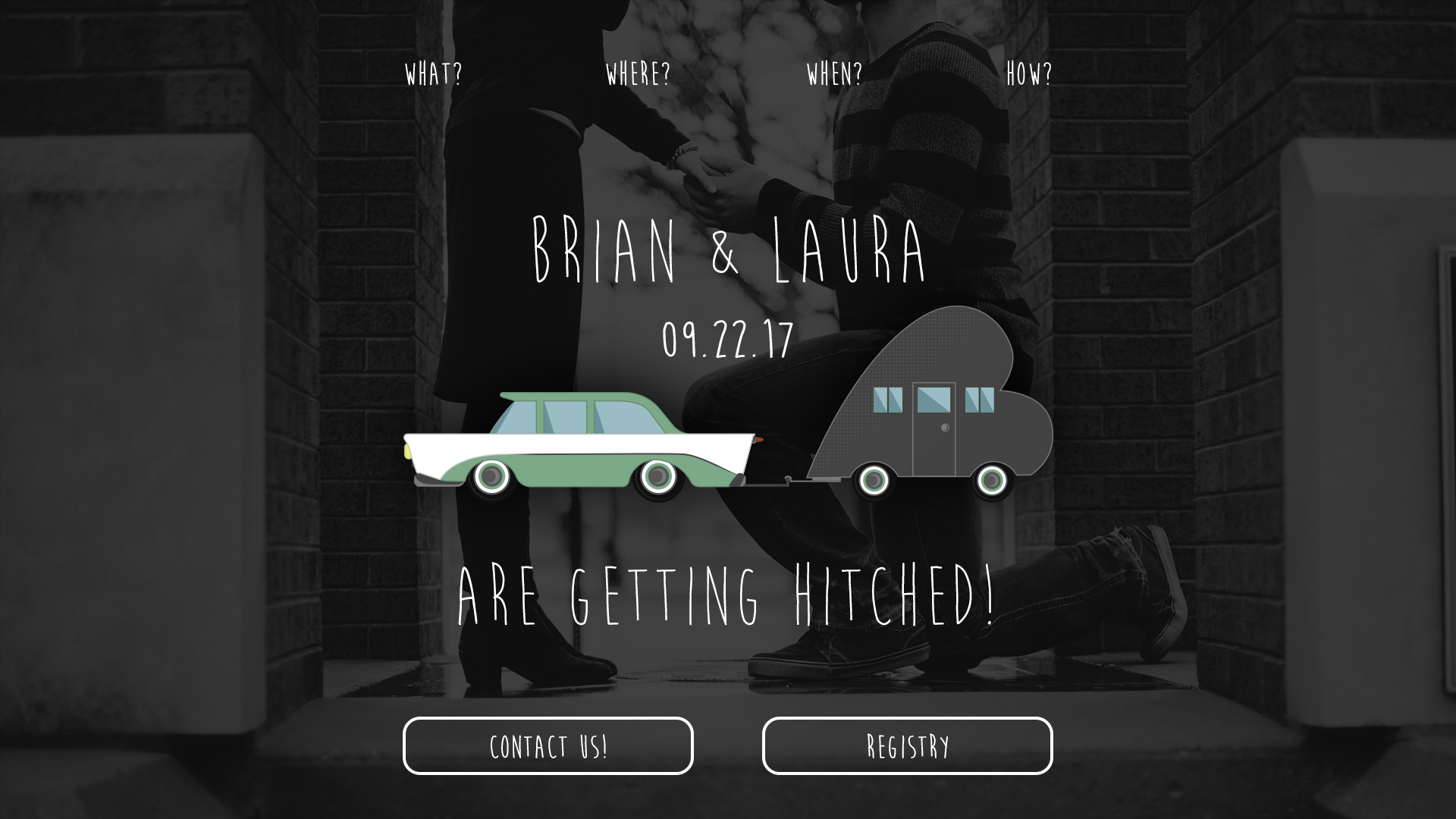 Wedding Splash Page - splash page examples - Tips from the pros