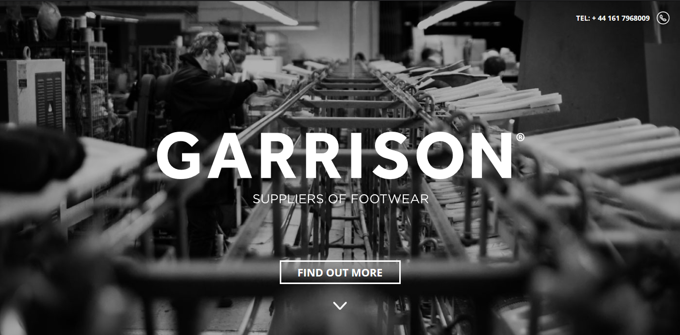 Garrison Footwear - splash page examples - Tips from the pros