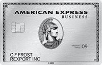 American Express Business Platinum Card best cash back business credit cards