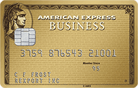 American Express Business Gold Rewards best cash back business credit cards