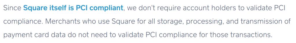 Square vs. Stripe - PCI compliace