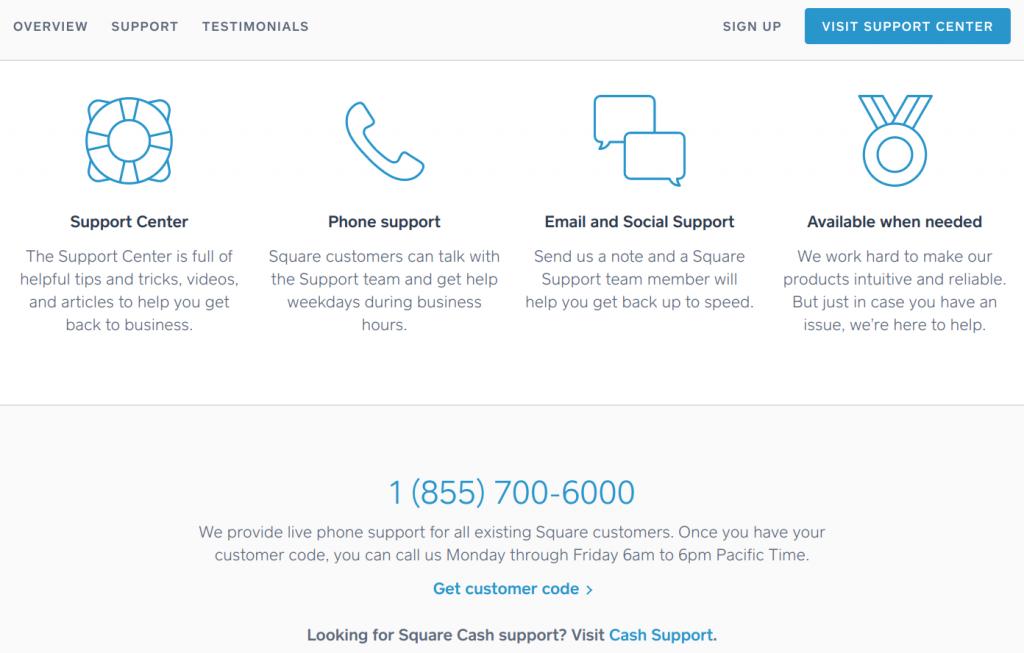 Square vs. Stripe - customer service