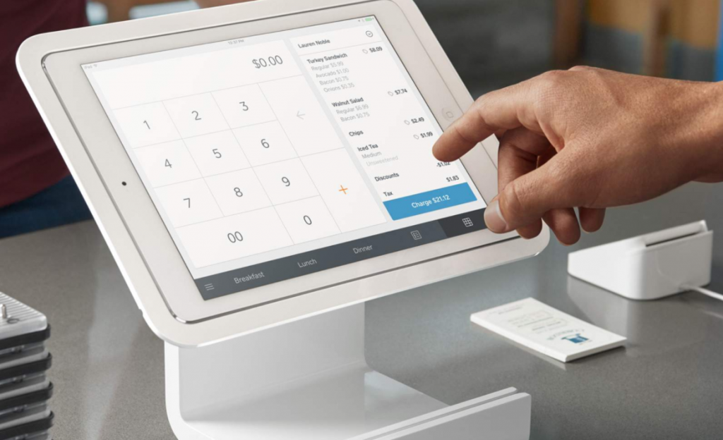 what is pos - square checkout