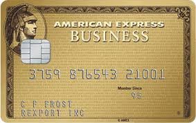 American Express Business Gold best business credit card for travel