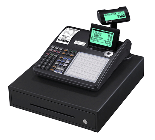Casio SE-C3500 - cash register for small business