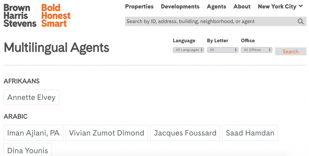 25 best real estate agent websites examples from the pros for Dutch real estate websites