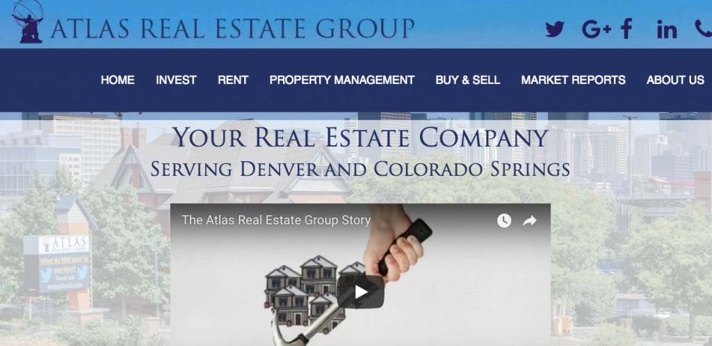 real estate agent website examples