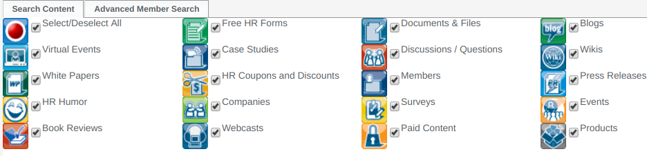 hr Training providers - HR.com search options
