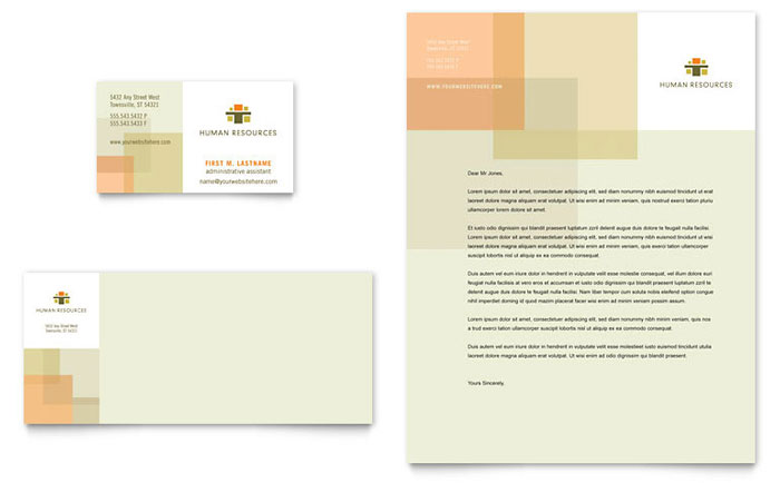 HR Management Services Letterhead