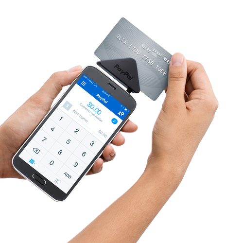 PayPal Here magstripe reader - best credit card reader for PayPal users