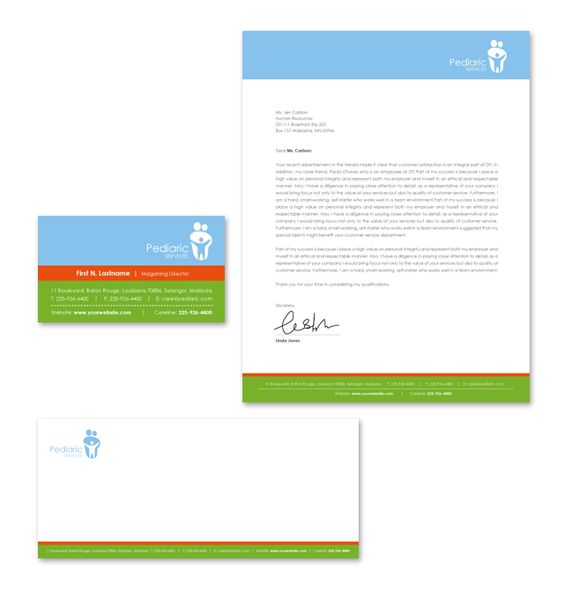 Pediatric Clinic Letterhead