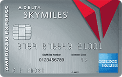 American Express Platinum Delta Skymiles best business credit card for travel