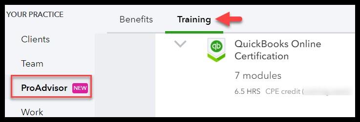 QuickBooks ProAdvisor Certification Exam