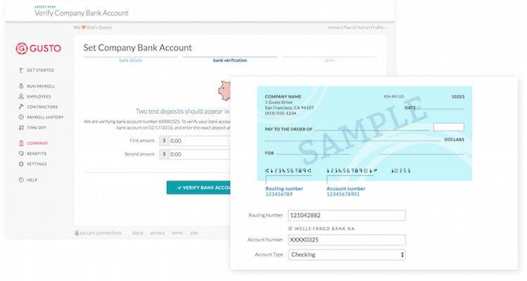 Gusto payroll software