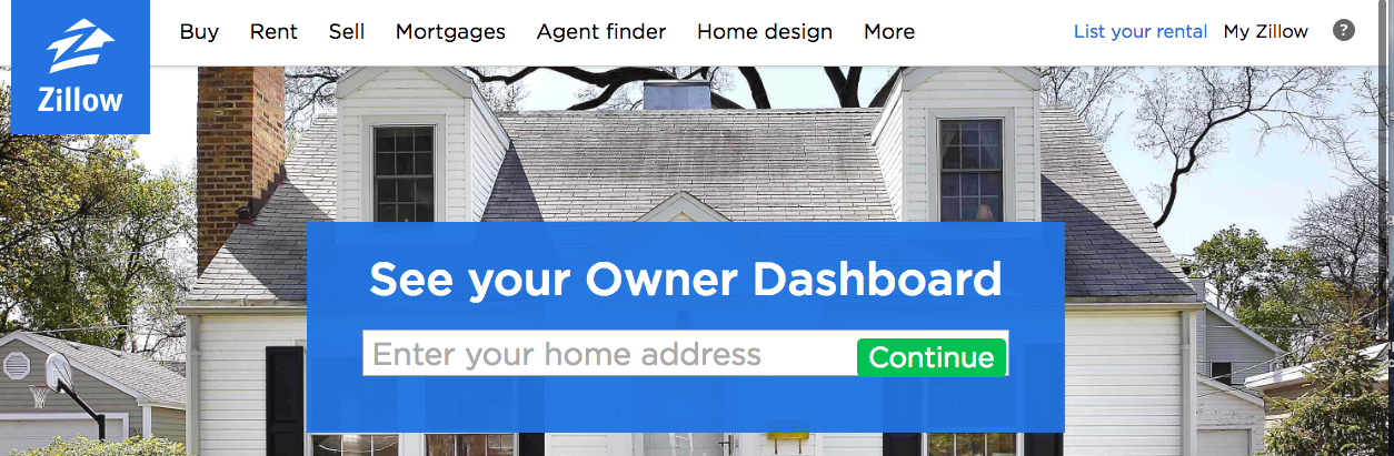 how to list a house on zillow