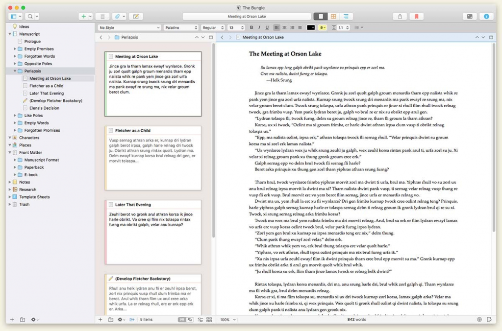 Scrivener for Kindle Format -- how to save an original e-book in a Kindle book format